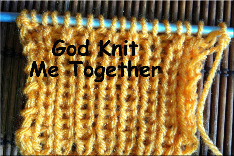 Knit Together Memory Verse
