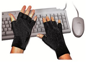 this is a picture of a Soft wrist support by ErgoMitts