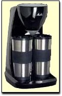 Dual Thermal Mug Coffee Maker from Melitta USA - Holiday/Seasonal Cooking