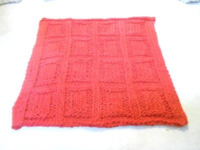 Afghan Knit from Stash Yarn Recipe