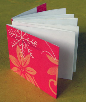 accordion book photo