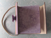 purse mini book photo