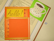 bookmark card photo