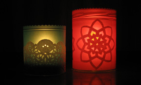 candle holders photo