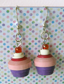 cupcake earrings photo
