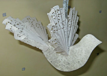dove ornament photo
