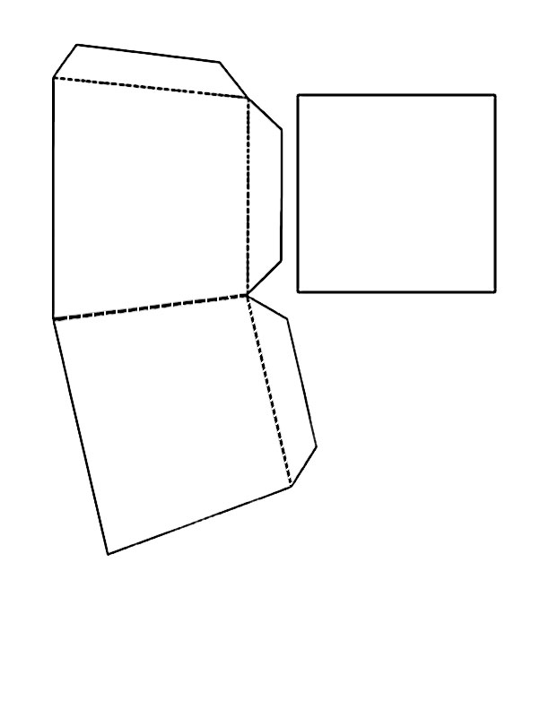 Easter Basket Template Basket templates, part 1 and