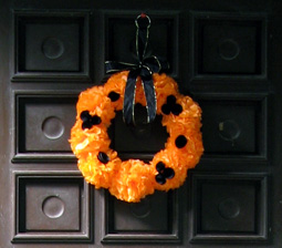 halloween wreath photo
