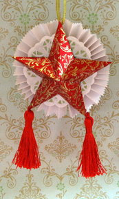 star ornament photo