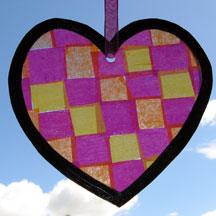heart suncatcher photo