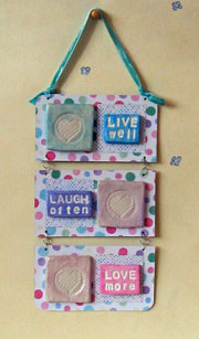 live laugh love wall plaque