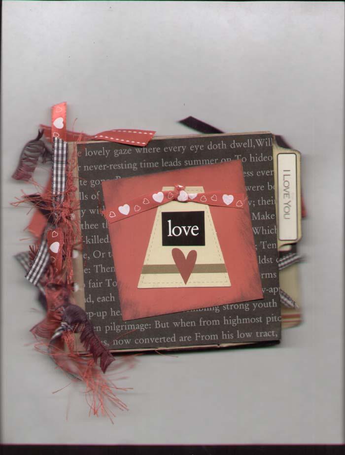Love album scrapbooking - Scrapbooking album photo ...